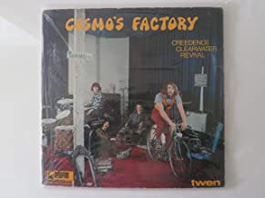 Creedence Clearwater Revival Cosmos's Factory German Issue LP Record
