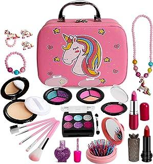Sendida Real Makeup Toy for Girls - Washable Kids Makeup Toys Kit Princess Pretend Play Christmas Birthday 3 4 5 6 Gift fo...