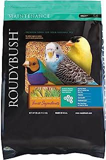 RoudyBush Daily Maintenance, Nibbles Bird Food, 25-Pound (225NIDM)