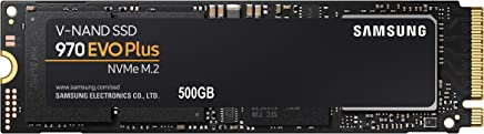 Samsung MZ-V7S500BW Unità SSD 970 EVO PLUS, 500 GB, M.2, NVMe, Nero/Arancione
