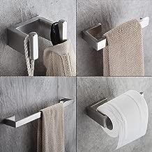 Best modern brushed nickel towel bar Reviews