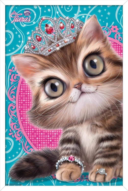 Trends 往復送料無料 高品質 International Animal Club - Kitten Poster Tiara Wall a in