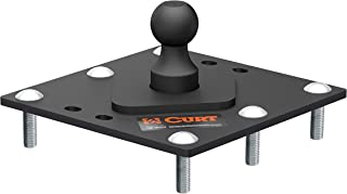 CURT 61100 Over-Bed Fixed Ball Gooseneck Hitch, 30,000 lbs. GTW, 2-5/16-Inch