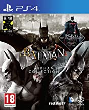 Batman: Arkham Collection - Edición Exclusiva Amazon (Incluye steelbook y skin de caballero oscuro)