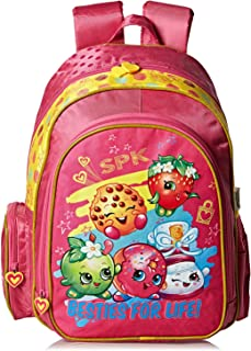 Shopkins School Backpack for Kids - Pink