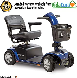 Pride Victory 10 4-Wheel Heavy Duty Scooter w/Avail ext warr (Blue)