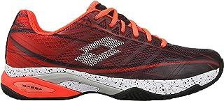 a7a5643b685e Lotto Men Mirage 300 Clay Tennis Shoes Clay Court Shoe Orange - Black 6,5