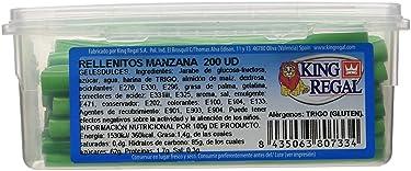 King Regal Rellenito Manzana - estuche 200 unidades