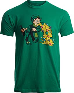 Irish Leprechaun Tossing Lucky Cookies | Funny St. Patrick's Day for Men T-Shirt
