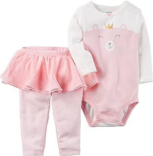 Carter's Baby Girls' 2 Piece Bear Bodysuit & Tutu Pants Set