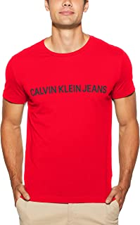 Calvin Klein Jeans Men's Institutional Logo Slim Fit T-Shirt