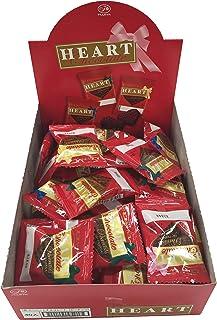 不二家 ミニハートチョコレート(ピーナッツ) 1枚×40袋