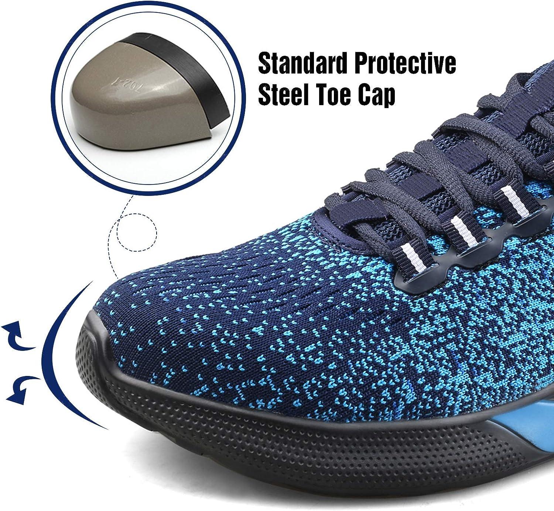 Ucayali Chaussure de Securit/é Homme Legere Antid/érapante Chantiers et Industrie Basket Securite avec Embout de Protection en Acier