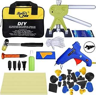 Fly5D 45Pcs DIY Car Paintless Dent Glue Puller Removal Tool Kits for Car Door Ding Repair Power Hand Tools…