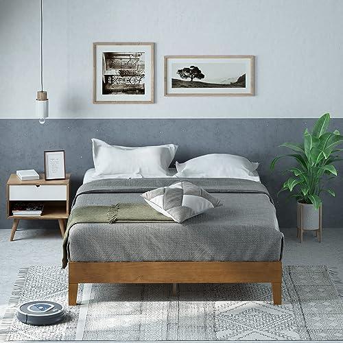 Zinus Moiz Deluxe Platform Bed Frame