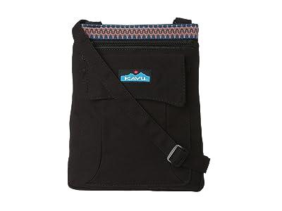 KAVU Keeper (Black) Cross Body Handbags
