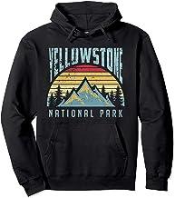 Yellowstone National Park Wyoming Mountains Hoodie