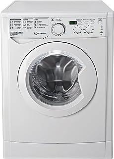 Indesit EWD 71483 W DE Waschmaschine FL / 174 kWh / 1400 UpM / 7 kg / 10840 Liter / MyTime, Schneller als 1 Stunde / Inverter-Motor / leise nur 54 db / Wasserstopp