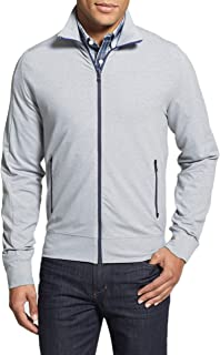 Victorinox Men's Swiss Army Full Zip Track Jacket, Size XXL - Grey