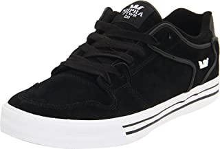 Shoes Vaider Low Black Suede White