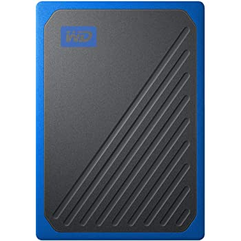 WD ポータブルSSD 1TB USB3.0 ブルー My Passport Go 外付け / 3年保証 【PS4 / Xbox Oneメーカー動作確認済】WDBMCG0010BBT-WESN