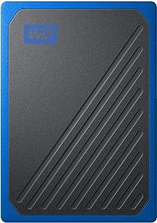 WD SSD 外付 ポータブル 500GB My Passport Go ブルー WDBMCG5000ABT-WESN USB3.0 / 3年保証 【PlayStation4 メーカー動作確認済】