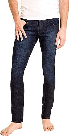 Duc Denim - Jeans Para Hombre - Louis the Liberal - Aged Indigo - Slim Fit - Jeans Azules - Alta Calidad de Mezclilla - Corte Ajustado - Fit Perfecto - Estilo Moderno - Denim - Para Caballero - Skinny - Se Estiran - Mezclilla Elastica