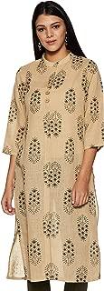 Soch Women's Cotton a-line Kurta