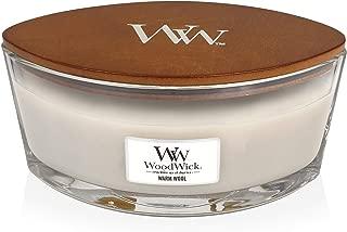 WoodWick Warm Wool Hearthwick Ellipse Candle, 16 oz.