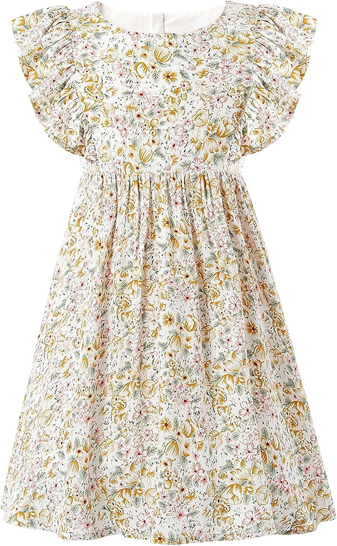 U D Girls Atlanta Mall Summer Cotton Short-Sleeved and Dress Cute Bombing free shipping