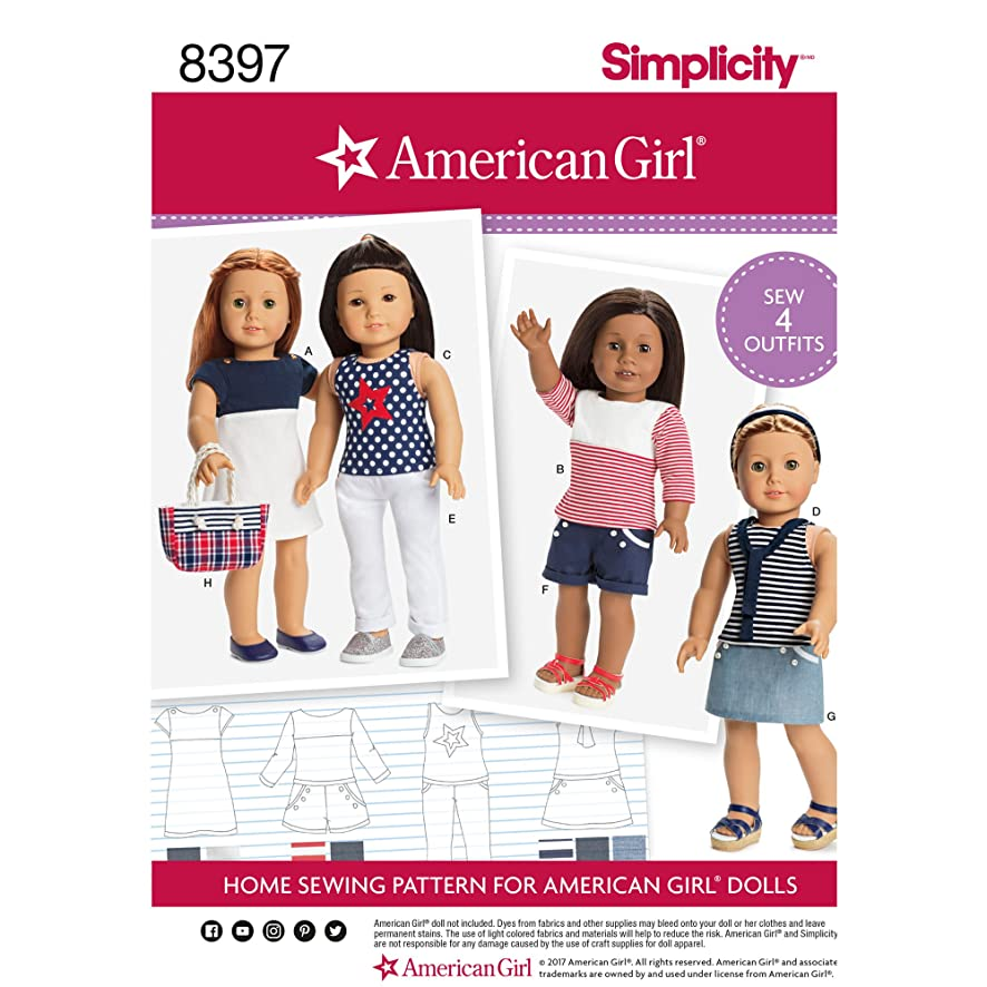 Simplicity Creative Patterns US8397OS Sewing Pattern Crafts