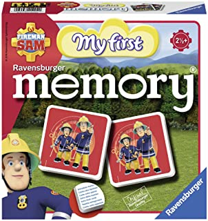 Ravensburger 212040 Brandweerman Sam My First Memory, Vanaf 2 1/2 Jaar