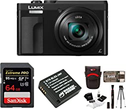 Panasonic DC-ZS70K Lumix 20.3MP, 4K Touch Enabled 3