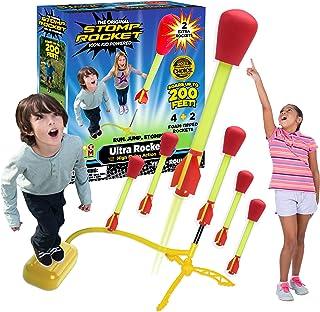 Stomp Rocket Ultra Rocket with Ultra Rocket Refill Pack, 6 R