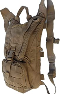 USMC Military Eagle Industries FILBE Coyote Brown Marine HYDRATION CARRIER Backpack Bag Pack Assembly Needs 3 L 100 oz Bladder by US Government GI USGI NSN 8465-01-600-7882