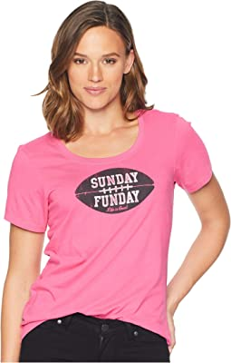 Sunday Funday Crusher Scoop Neck T-Shirt