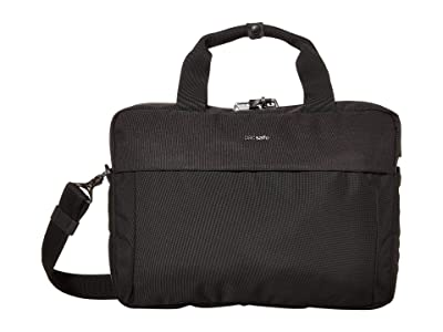 Pacsafe 13 Intasafe X Laptop Anti-Theft Slim Brief (Black) Briefcase Bags