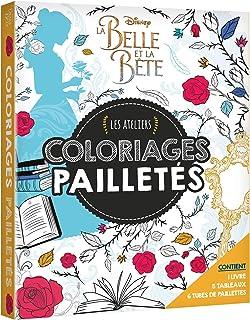 LA BELLE & LA BÊTE - LE FILM - Les Ateliers Disney - Coffret - Paillettes (HJD ATELIERS)