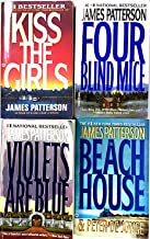 James Patterson-4 Books: Four Blind Mice, The Beach House, Kiss the Girls, & Violets are Blue