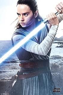Trends International Star Wars: The Last Jedi-Rey Mount Wall Poster, 22.375
