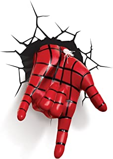 3D Light FX Marvel Spiderman Hand 3D Deco LED Wall Light(Discontinued by Manufacturer)