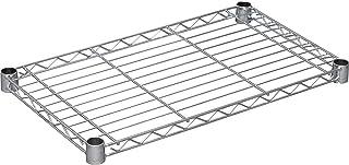 アイリスオーヤマ ラック メタルラック パーツ 棚板 防サビ加工 幅61×奥行36cm 耐荷重100kg ポール径25mm スチールラック サビに強い ホワイト SE-6035T