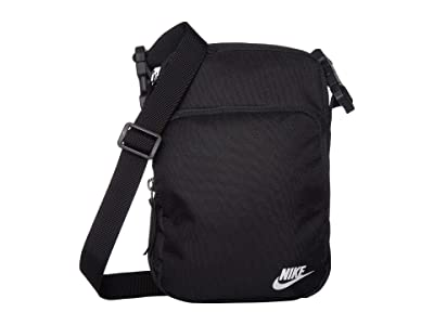 Nike Heritage Small Items 2.0 (Black/Black/White) Bags