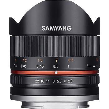 SAMYANG 単焦点魚眼レンズ 8mm F2.8 II ブラック ソニー αE用 APS-C用