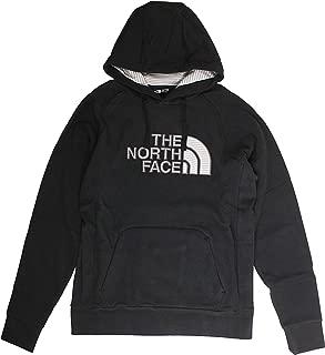 M Avalon Half Dome Hoodie Pullover TNF Black/Zinc Grey Stripe Mens L