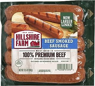Hillshire Farm Beef Smoked Sausage Links, 6 Count