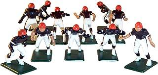 Electric Football 11 Regular Size Men in Brown Orange Home Uniform