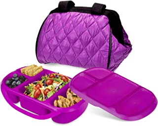 Smart Planet Portion Perfect Puffer Bag Set, Berry