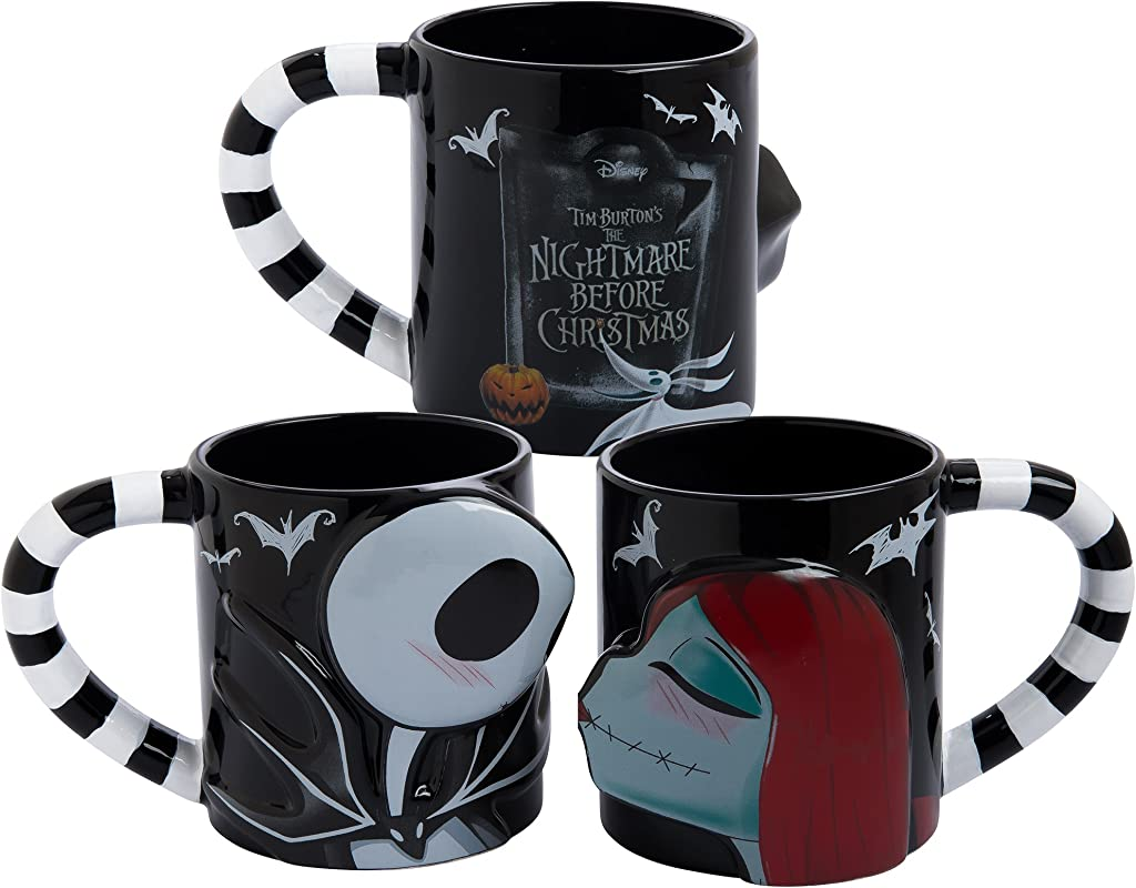Vandor 84001 The Nightmare Before Christmas 20 Oz Mug Set