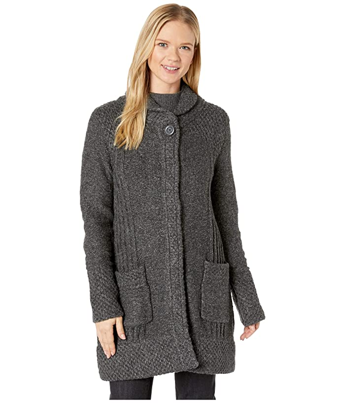 Prana Elsin Sweater Coat (Black) Women